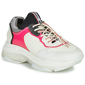 Shoes Women Low top trainers Bronx BAISLEY White / Pink