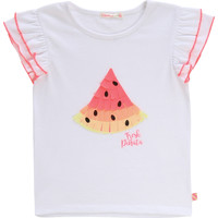 material Girl short-sleeved t-shirts Billieblush / Billybandit NARI White