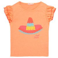 material Girl short-sleeved t-shirts Billieblush NORE Orange
