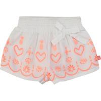 material Girl Shorts / Bermudas Billieblush / Billybandit NEYO White