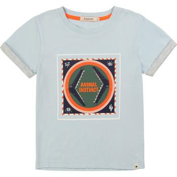 material Boy short-sleeved t-shirts Billieblush / Billybandit NOLVIO Blue