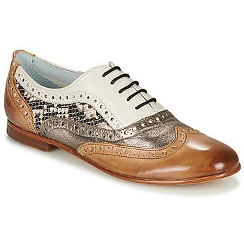 Shoes Women Ballerinas Melvin & Hamilton SONIA 1 Brown / Beige