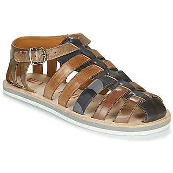 Shoes Men Sandals Melvin & Hamilton SAM-3 Grey