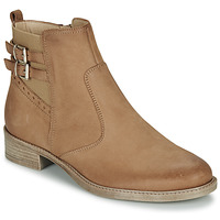 Shoes Women Mid boots André CARLIN Camel
