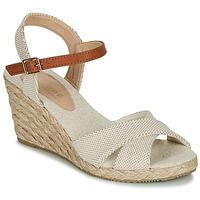 Shoes Women Sandals André PAULETTA Beige