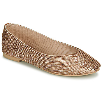 Shoes Women Ballerinas André PAPAYA Gold