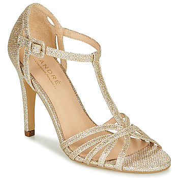 Shoes Women Court shoes André JOY Gold