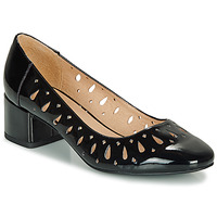 Shoes Women Ballerinas André JOZEFA Black / Varnish