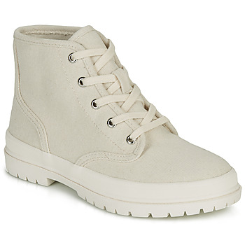 Shoes Women High top trainers André HANDE Beige