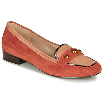 Shoes Women Loafers André L ACROBATE Pink