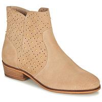 Shoes Women Mid boots André BERTINA Beige