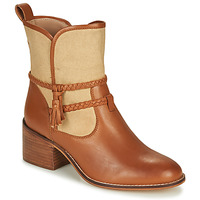 Shoes Women Ankle boots André BROOK Camel
