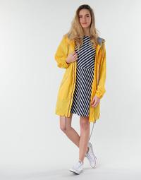 material Women Parkas Petit Bateau SHINE Yellow