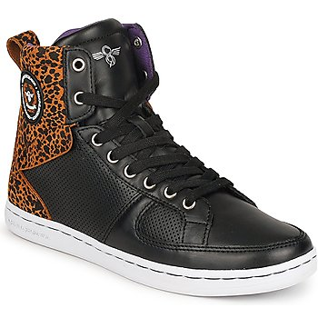 Shoes Women High top trainers Creative Recreation W SOLANO Black