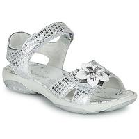 Shoes Girl Sandals Primigi  Silver