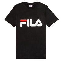 material Children short-sleeved t-shirts Fila FREDERIK Black
