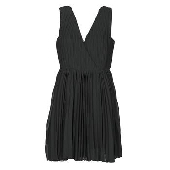material Women Short Dresses Moony Mood MINIZIA Black