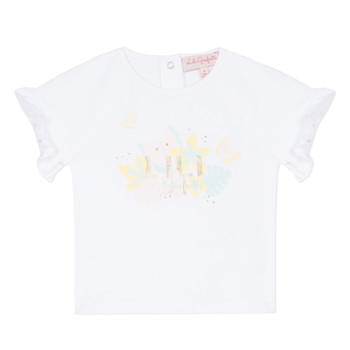 material Girl short-sleeved t-shirts Lili Gaufrette NALIS White