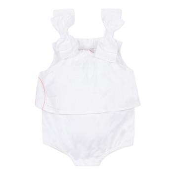 material Girl Jumpsuits / Dungarees Lili Gaufrette NOLENI White