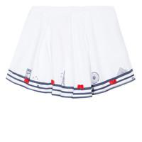 material Girl Skirts Lili Gaufrette BELINDA White