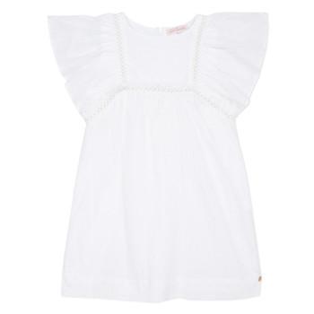 material Girl Short Dresses Lili Gaufrette MELINA White