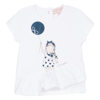 material Girl short-sleeved t-shirts Lili Gaufrette MAE White