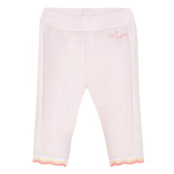 material Girl 5-pocket trousers Lili Gaufrette DIM. Pink