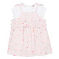 material Girl Short Dresses Lili Gaufrette SAMANTA Pink