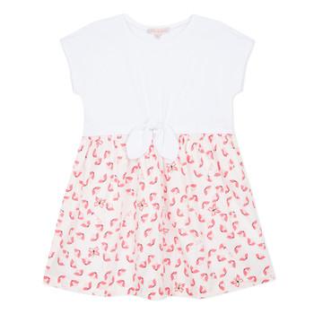 material Girl Short Dresses Lili Gaufrette CAYDEN White