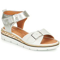 Shoes Women Sandals Karston KICHOU White / Silver