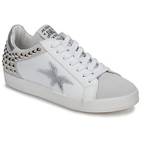 Shoes Women Low top trainers Meline GELLABELLE White