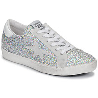 Shoes Women Low top trainers Meline GARAMINE White / Silver