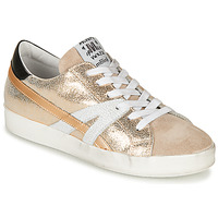 Shoes Women Low top trainers Meline GARISSE Gold