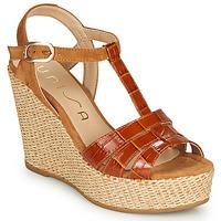 Shoes Women Sandals Unisa MACA Camel