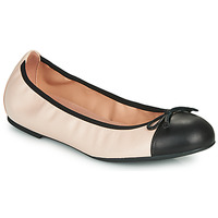 Shoes Women Ballerinas Unisa AUTO Nude / Black
