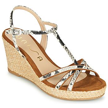Shoes Women Sandals Unisa LLINAR Python