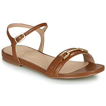 Shoes Women Sandals Unisa CARITA Camel