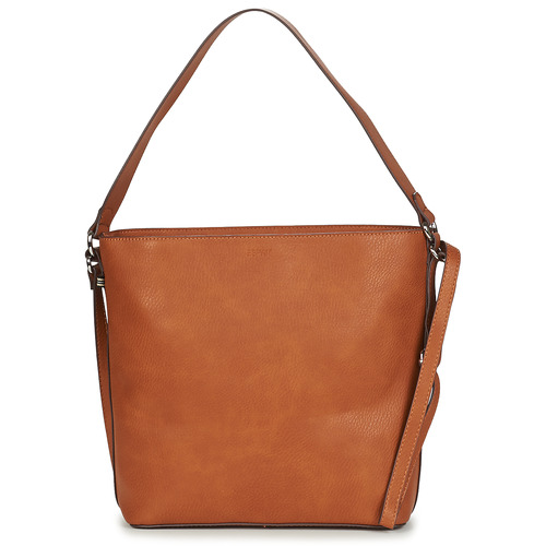 Bags Women Shoulder bags Esprit NOOS_V_HOBOSHB Brown