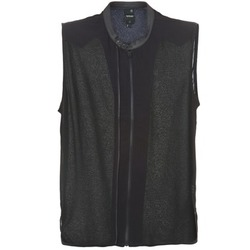 material Women Blouses G-Star Raw 5620 CUSTOM Black