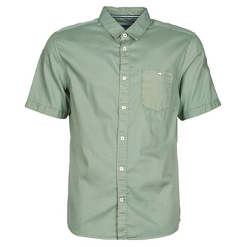 material Men short-sleeved shirts Tom Tailor RAY OVERDYED Kaki