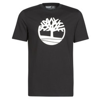 material Men short-sleeved t-shirts Timberland SS KENNEBEC RIVER BRAND TREE TEE Black