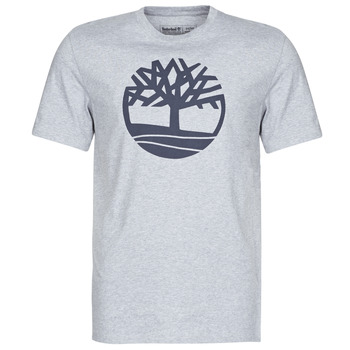 material Men short-sleeved t-shirts Timberland SS KENNEBEC RIVER BRAND TREE TEE Grey
