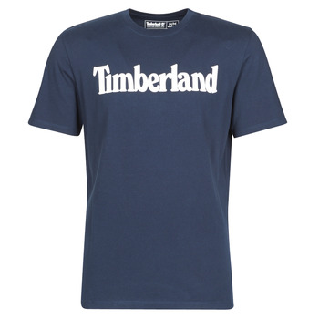 material Men short-sleeved t-shirts Timberland SS KENNEBEC RIVER BRAND LINEAR TEE Marine