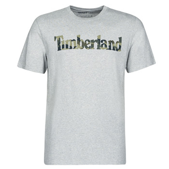 material Men short-sleeved t-shirts Timberland SS KENNEBEC RIVER CAMO LINEAR TEE Grey