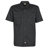 material Men short-sleeved shirts Dickies SHORT SLEEVE Black