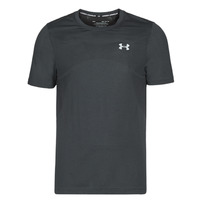 material Men short-sleeved t-shirts Under Armour SEAMLESS Black