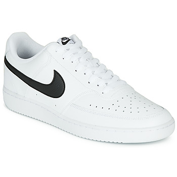 Shoes Men Low top trainers Nike COURT VISION LOW White / Black