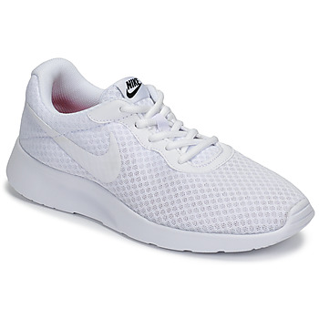 Shoes Women Low top trainers Nike TANJUN White