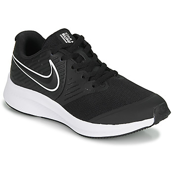 Shoes Children Multisport shoes Nike STAR RUNNER 2 GS Black / White