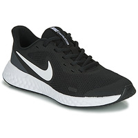 Shoes Children Multisport shoes Nike REVOLUTION 5 GS Black / White